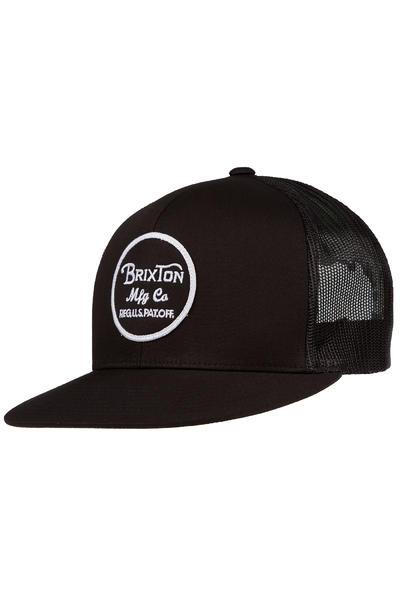 Brixton Wheeler Trucker Cap (black black)