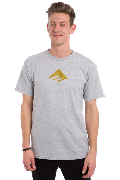 Emerica Triangle 7.1 T-Shirt (grey black)