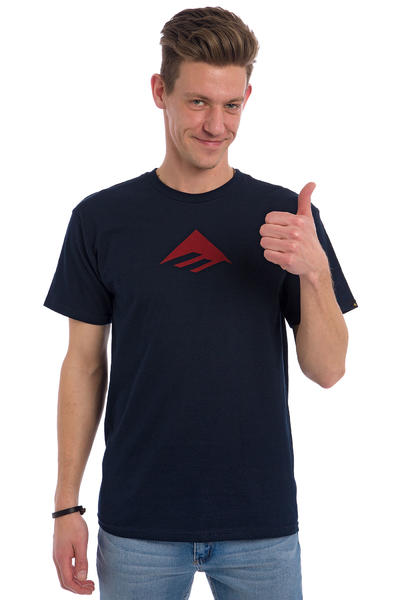 Emerica Triangle 7.1 T-Shirt (navy blue)
