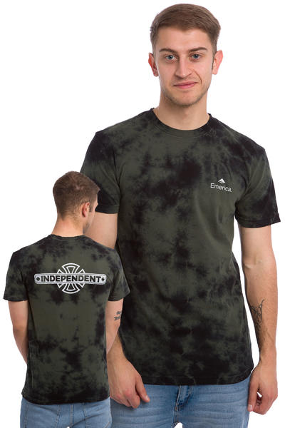 Emerica x Independent T-Shirt (dark green)