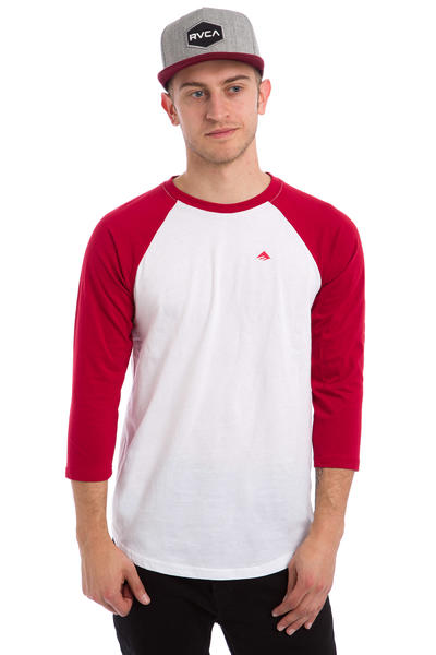 Emerica Stimulous 3/4 Longsleeve (red white)