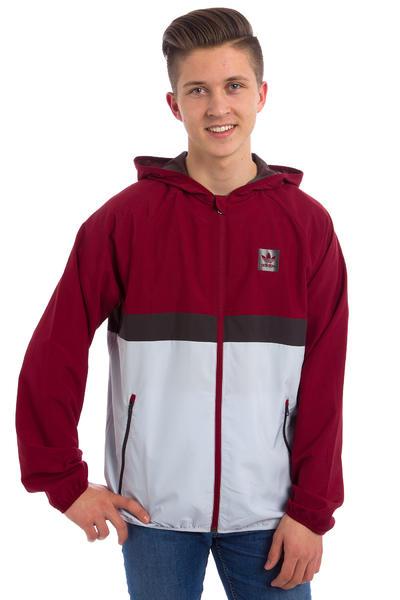 adidas BB Wind Jacket (burgundy)