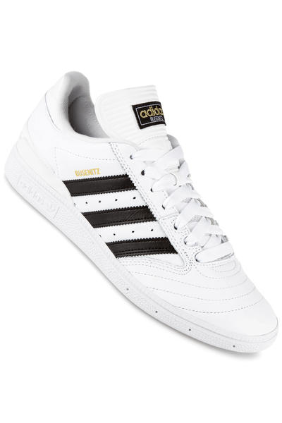 adidas Skateboarding Busenitz Shoe (white black gold)