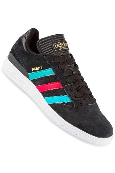 adidas Skateboarding Busenitz Shoe (black scarlet)