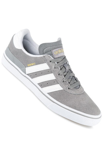 adidas Skateboarding Busenitz Vulc Shoe (grey white gold)