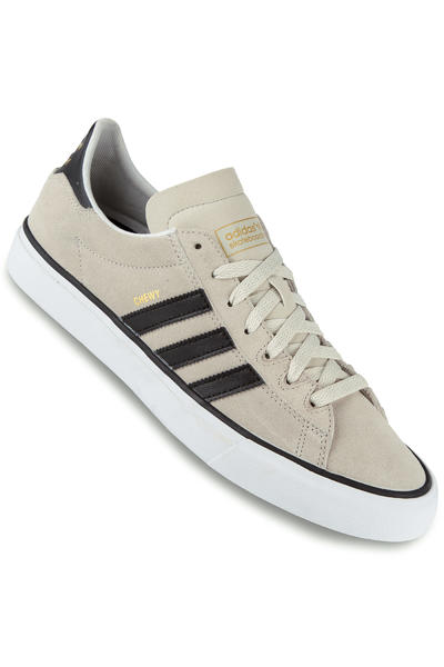 adidas Campus Vulc II Shoe (grey black gold)