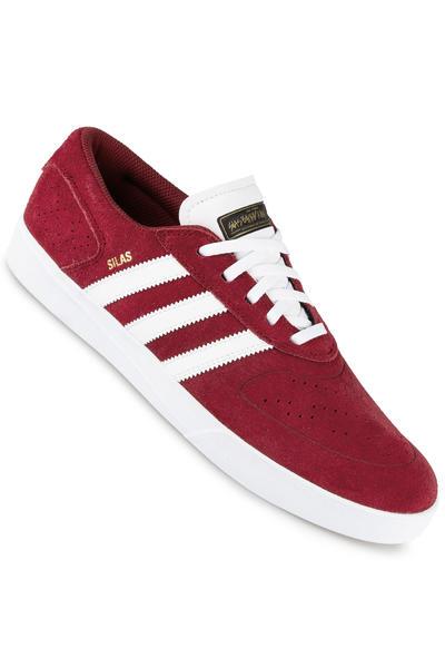 adidas Silas Vulc ADV Schuh (burgundy white black)