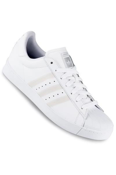 adidas Superstar Vulc ADV Schuh (white white silver)