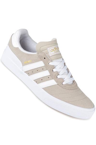 adidas Skateboarding Busenitz Vulc Shoe (white grey white)