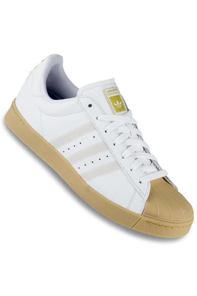 adidas Superstar Vulc ADV Shoe (white white gum)