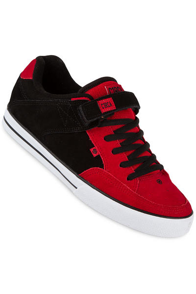 C1RCA 205 Vulc Suede Shoe (pompeian red black)