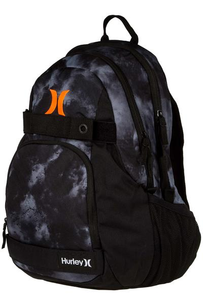 Hurley Honor Roll Printed Rucksack 27L (black black total orange)