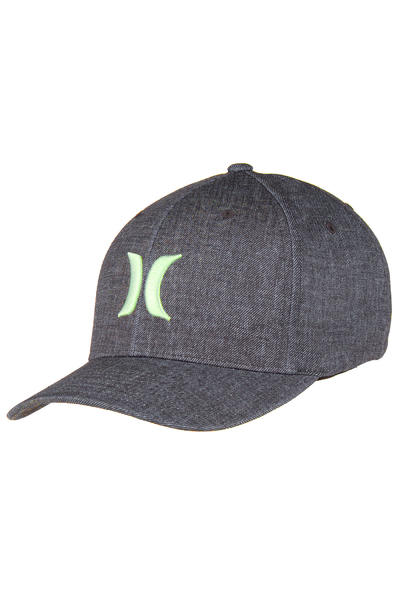 Hurley Black Suits FlexFit Cap (enamel green)