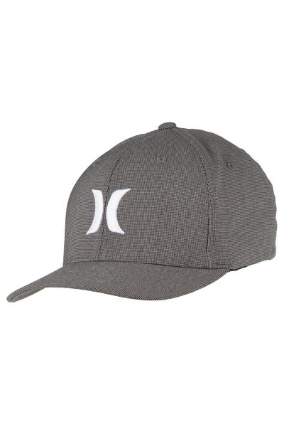 Hurley Black Suits FlexFit FlexFit Cap (white black)
