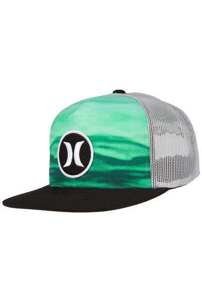 Hurley Block Party Flow Trucker Cap (green black)