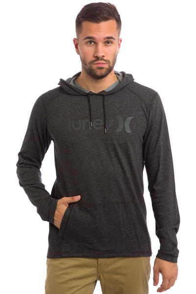 Hurley Dri-Fit Transmit Hoodie (heather black)