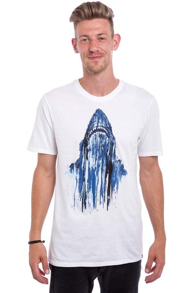 Hurley Sharky Shark T-Shirt (white)