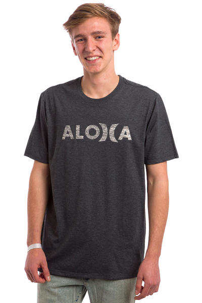 Hurley JJF Aloha Push Thru T-Shirt (heather black)