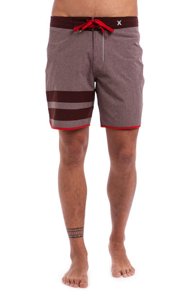 "Hurley Phantom Block Party Heather 16"" Boardshorts (mahogany)"