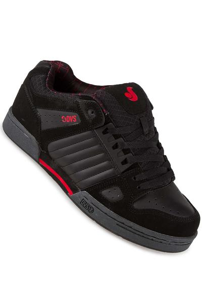 DVS Celsius Nubuck Shoe (black grey red deegan)