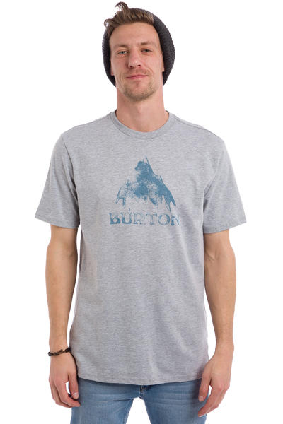 Burton Stamped Mountain T-Shirt (grey heather)