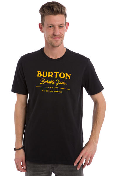 Burton Durable Goods T-Shirt (true black)