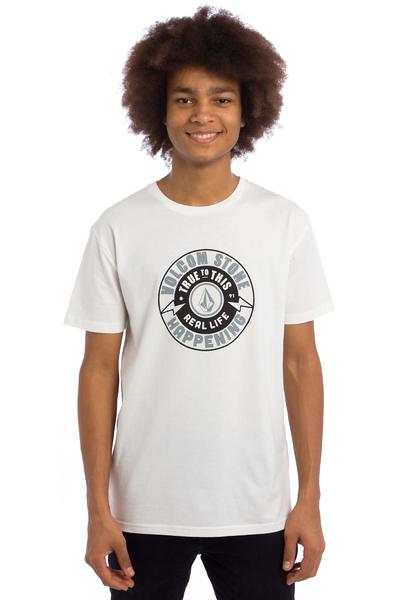 Volcom Thunder Bolt T-Shirt (paint white)