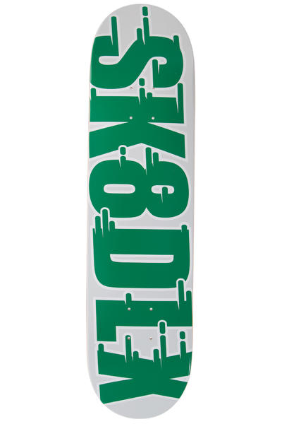 "SK8DLX Swift Series 7.875"" Deck (green)"