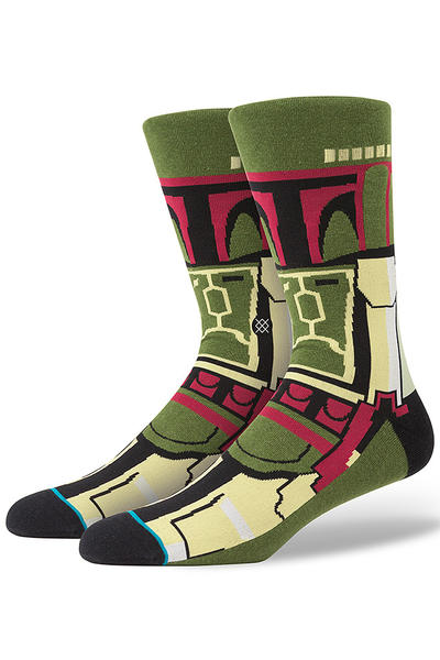 Stance x Star Wars Boba Fett Socks US 6-12 (green)