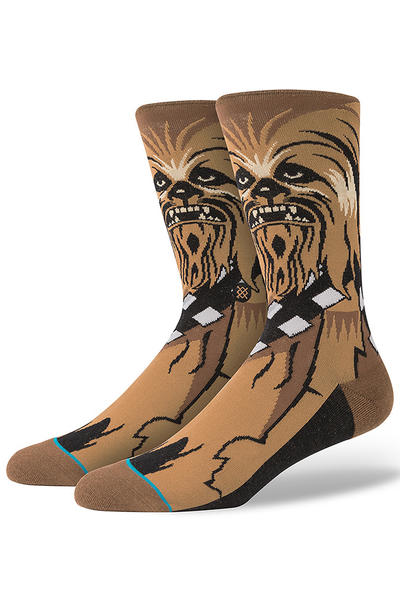 Stance x Star Wars Chewie Calcetines US 6-12 (brown)