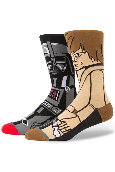 Stance x Star Wars Force Socks US 6-12 (black)