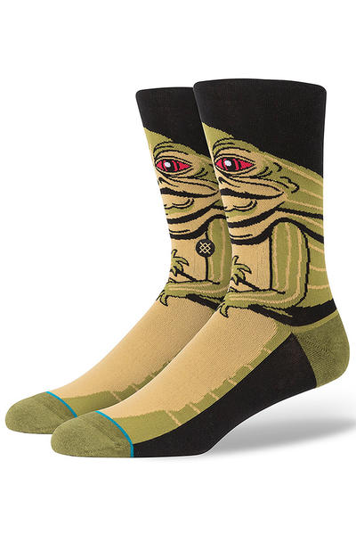 Stance x Star Wars Jabba Socks US 6-12 (green)