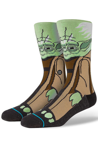 Stance x Star Wars Yoda Socken US 6-12 (green)
