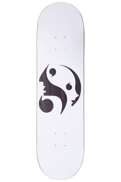 "Quasi Skateboards Johnson Each Other 8.625"" Deck (white)"