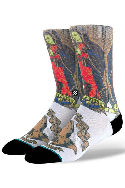 Stance Jason Jesse Socken US 6-12 (white)