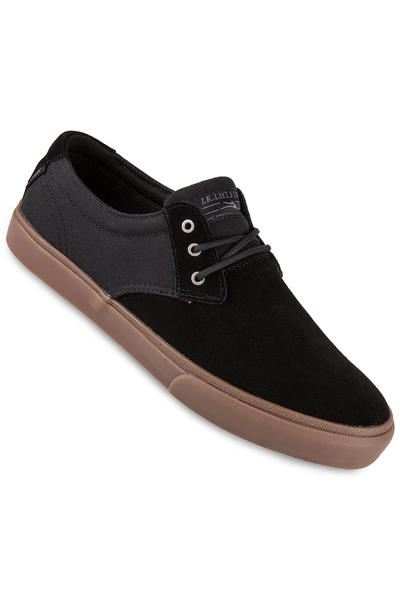 Lakai MJ Suede Shoe (black gum)