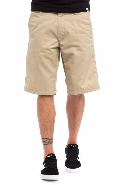 Carhartt WIP Presenter Dunmore Shorts (safari rinsed)