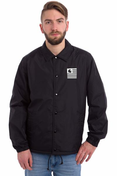 Carhartt WIP State Coach Jacket (black white)