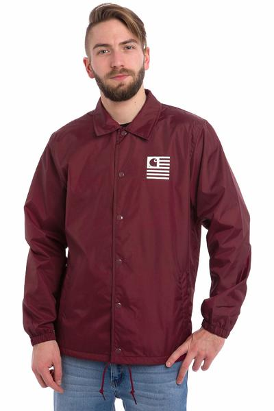 Carhartt WIP State Coach Jacket (cardovan white)