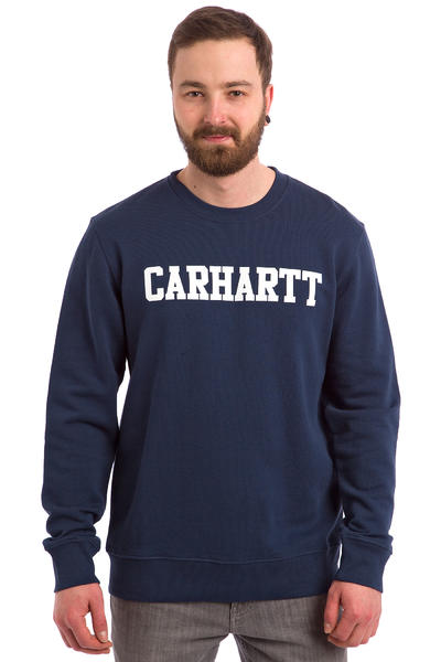 Carhartt WIP College Sweatshirt (blue white)