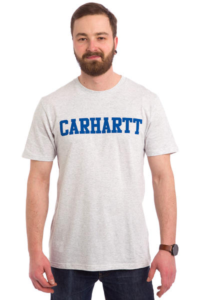 Carhartt WIP College T-Shirt (ash heather blue)
