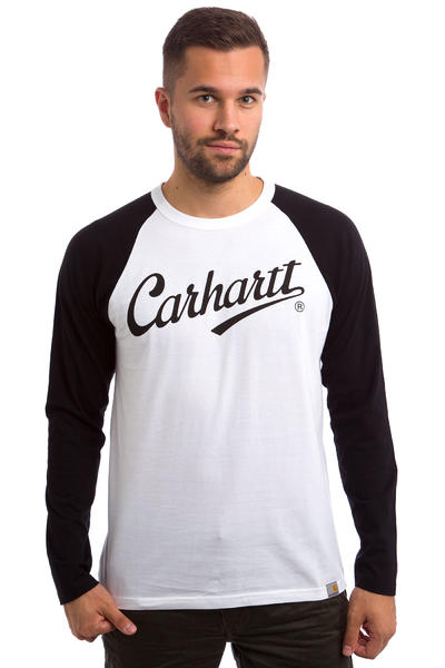 Carhartt WIP League Longsleeve (white black)