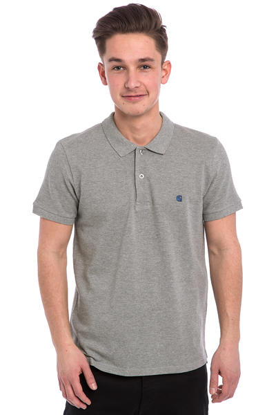 Carhartt WIP Slim Fit Polo Polo-Shirt (grey heather blue)