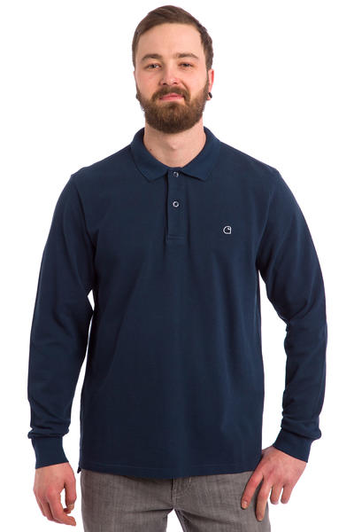 Carhartt WIP Patch Polo-Shirt (blue)