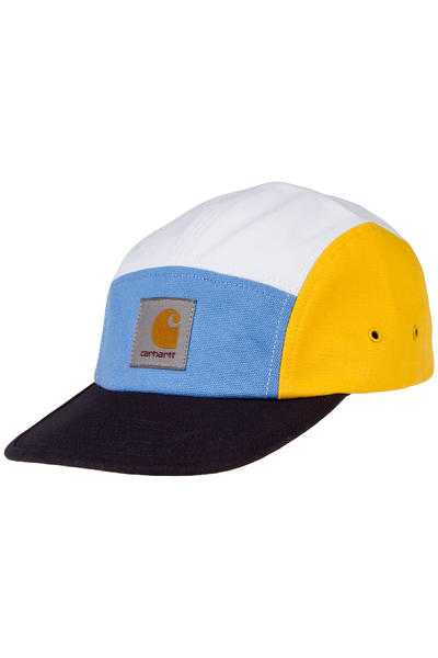 Carhartt WIP Multicolor Backley 5 Panel Cap (dark navy multi)