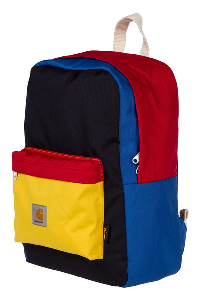 Carhartt WIP Multicolor Watch Backpack 17L (dark navy dolphin carambola red)
