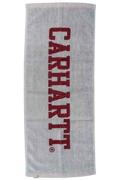 Carhartt WIP Stage Towel (grey heather cordovan)