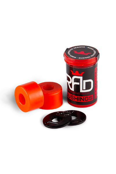 R.A.D. Double Barrel 89A Bushings (red) 2 Pack
