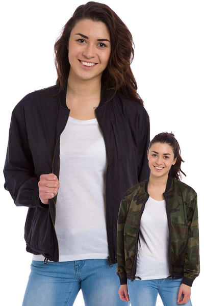 Carhartt WIP W' Dax Jacket reversible women (black 313 camo green)