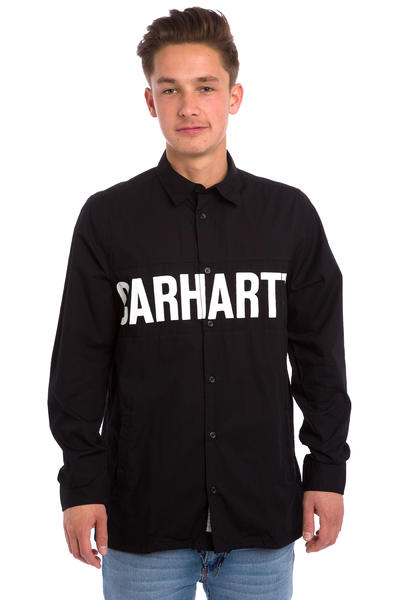 Carhartt WIP Shore Hemd (black black white)